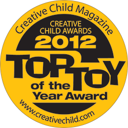 NogginStik Developmental Rattle wins Creative Child Magazine's Toy Of The Year Award