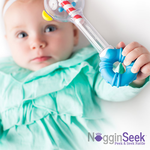 NogginSeek™ Peek & Seek Rattle